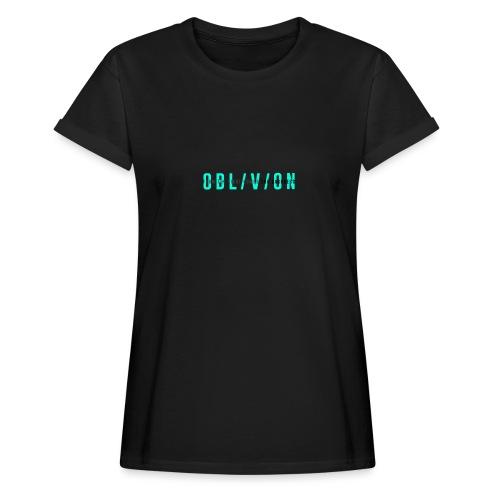 OBL/V/ON white - Maglietta ampia da donna
