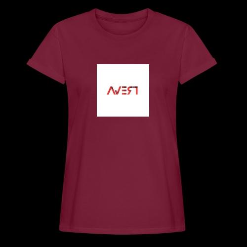AVERT YOUR EYES - Vrouwen oversize T-shirt