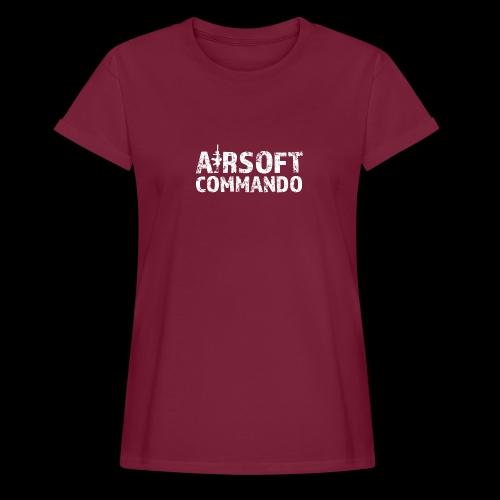Airsoft Commando - Frauen Oversize T-Shirt