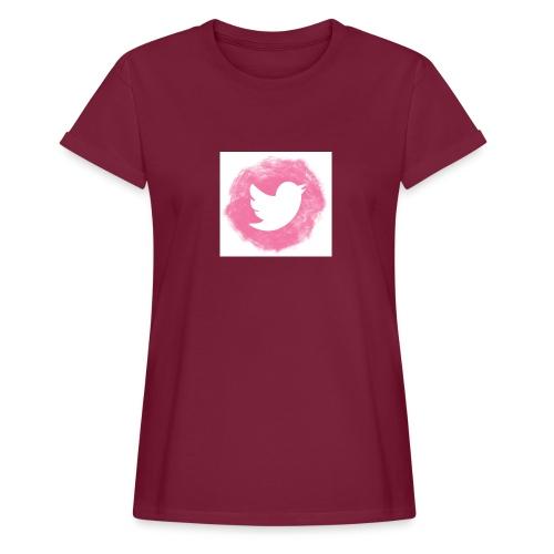 pink twitt - Women's Oversize T-Shirt