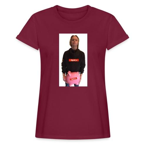 Sigrid_uPhotoTee - Oversize T-skjorte for kvinner