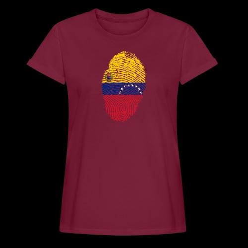 venezuela 653088 1920 - Camiseta holgada de mujer