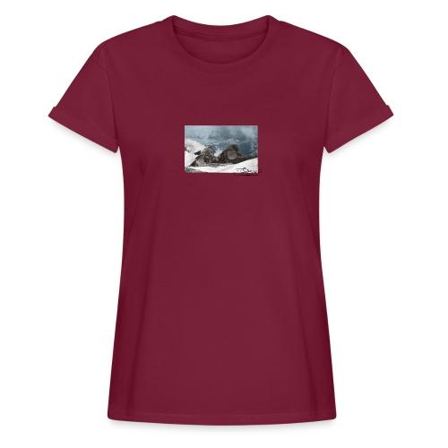 Mountains Colorized - Camiseta holgada de mujer