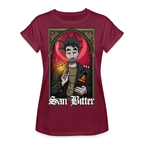 San Bitter - Camiseta holgada de mujer