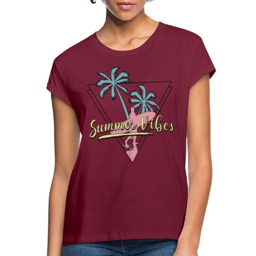 Summer vibes - Camiseta holgada de mujer