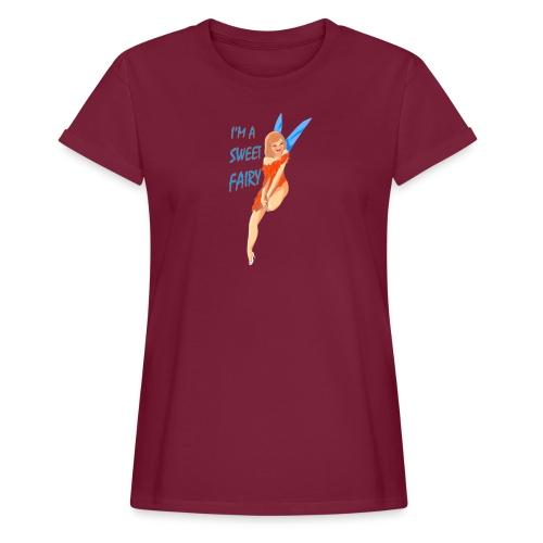Sweet Fairy - Maglietta ampia da donna