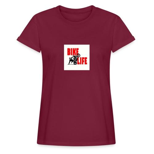 KEEP IT BIKELIFE - Women's Oversize T-Shirt