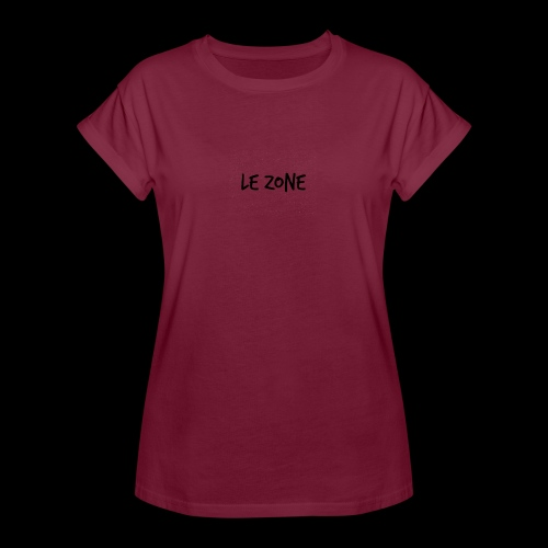 Le Zone Officiel - Dame oversize T-shirt