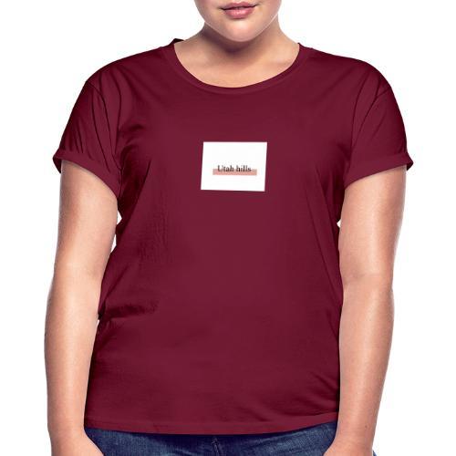 Utah hillss - Dame oversize T-shirt