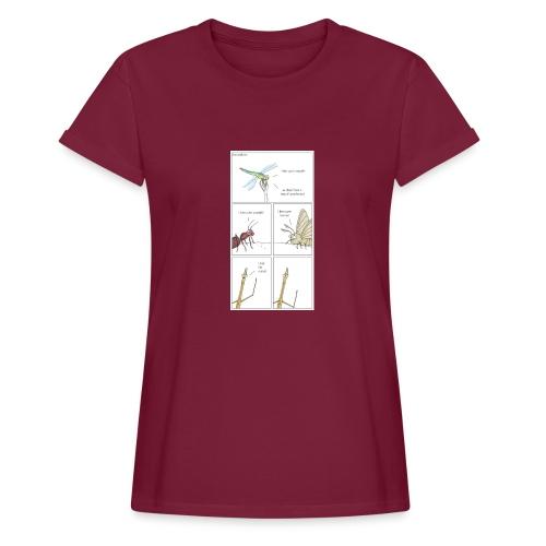 prueba prueba prueba prueba prueba prueba - Camiseta holgada de mujer