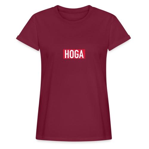 HOGAREDBOX - Oversize T-skjorte for kvinner