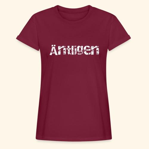 aentligen - Oversize-T-shirt dam