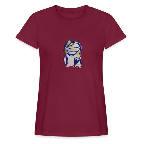 Fredriksson - Oversize-T-shirt dam