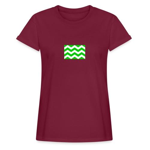 Vlag westland kassen - Vrouwen oversize T-shirt