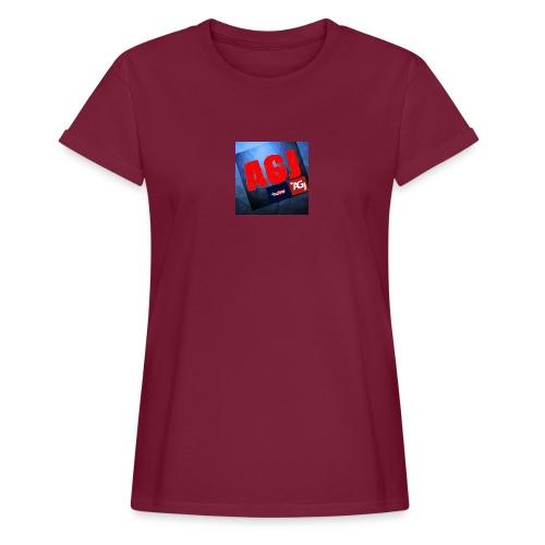 AGJ Nieuw logo design - Vrouwen oversize T-shirt