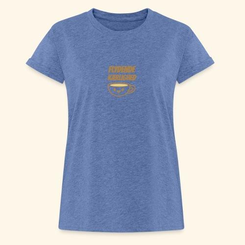 Flydende kærlighed - Dame oversize T-shirt