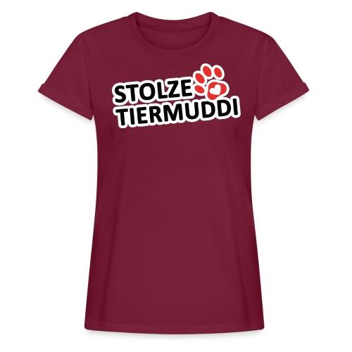 stolzetiermuddi png - Frauen Oversize T-Shirt