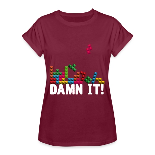 Damnit - Vrouwen oversize T-shirt