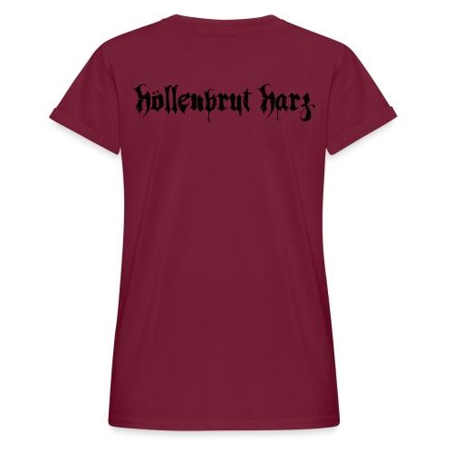Schriftzug - Frauen Oversize T-Shirt