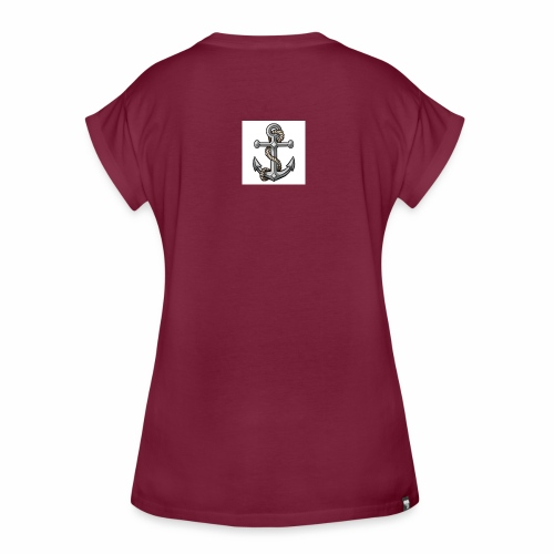 tatuaggio ancora - Maglietta ampia da donna