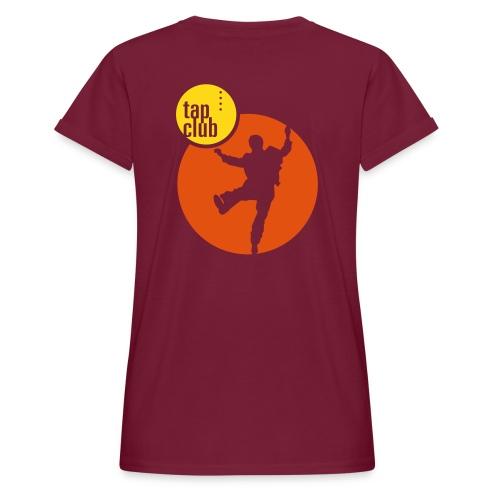 tap club muster02 - Frauen Oversize T-Shirt