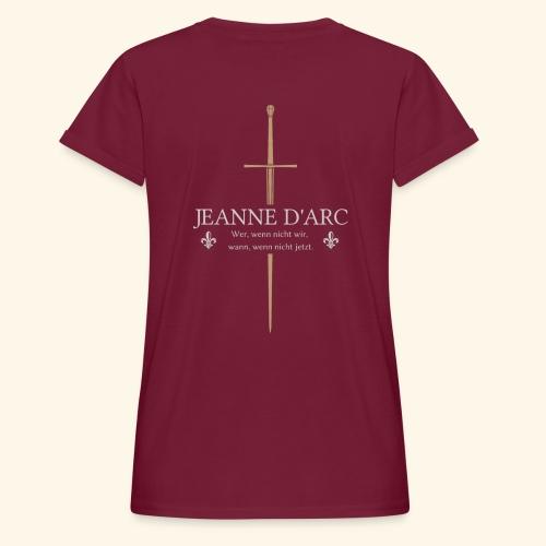 Jeanne d arc - Frauen Oversize T-Shirt
