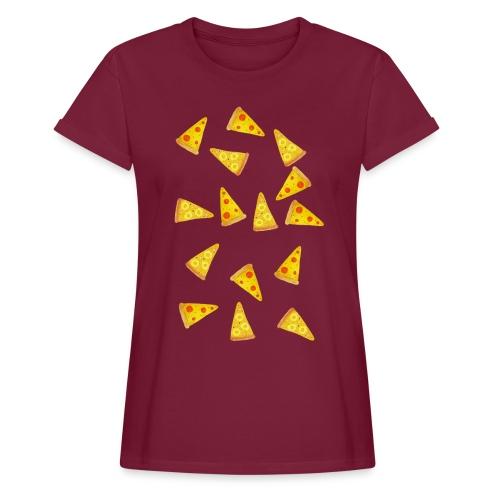 Pizza is Bae - Frauen Oversize T-Shirt