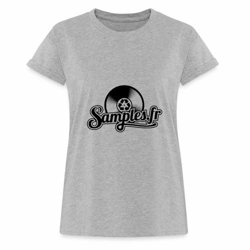 Gris / Noir (H / F) - T-shirt oversize Femme