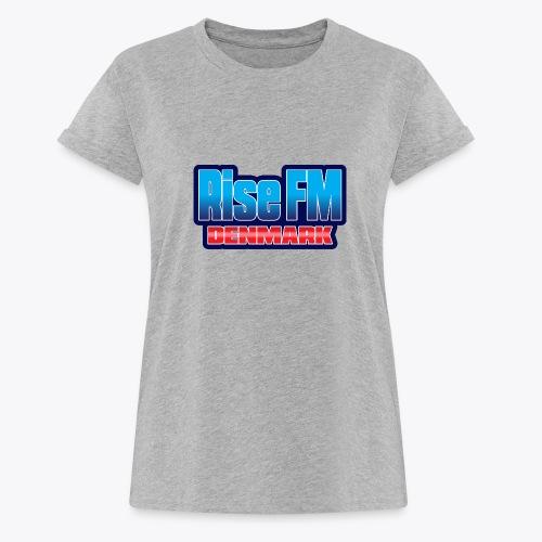 Rise FM Denmark Text Only Logo - Dame oversize T-shirt