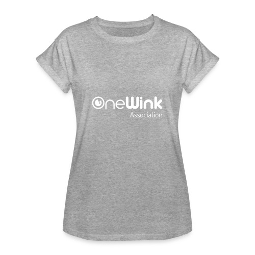 OneWink Association - T-shirt oversize Femme