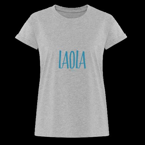 ola - Camiseta holgada de mujer
