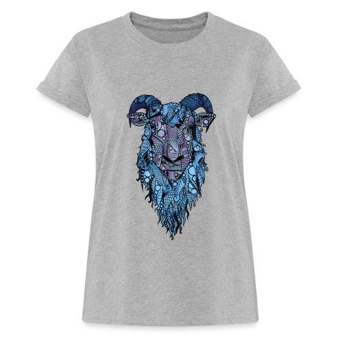 Sau - Oversize T-skjorte for kvinner