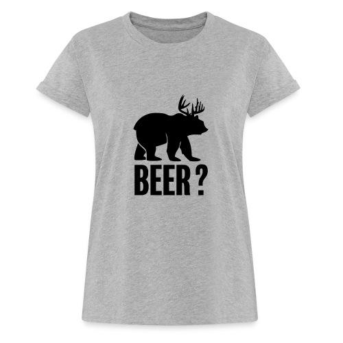 Beer - T-shirt oversize Femme