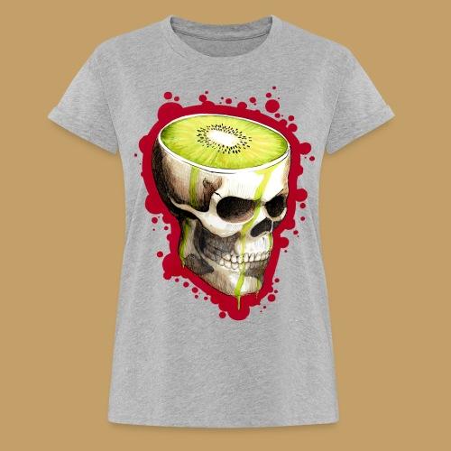 Czacha Kiwi - Koszulka damska oversize