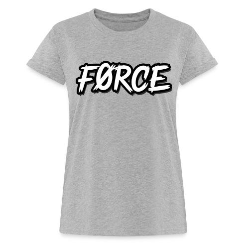 K - Vrouwen oversize T-shirt