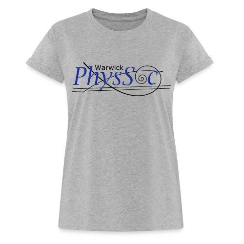 Official Warwick PhysSoc T Shirt - Women's Oversize T-Shirt