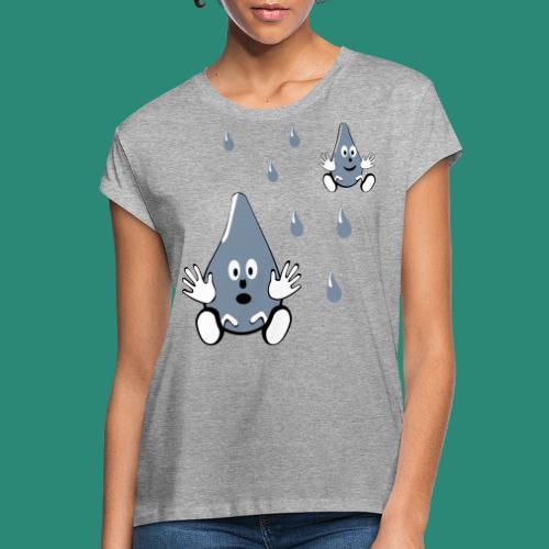 Tropfen - Frauen Oversize T-Shirt