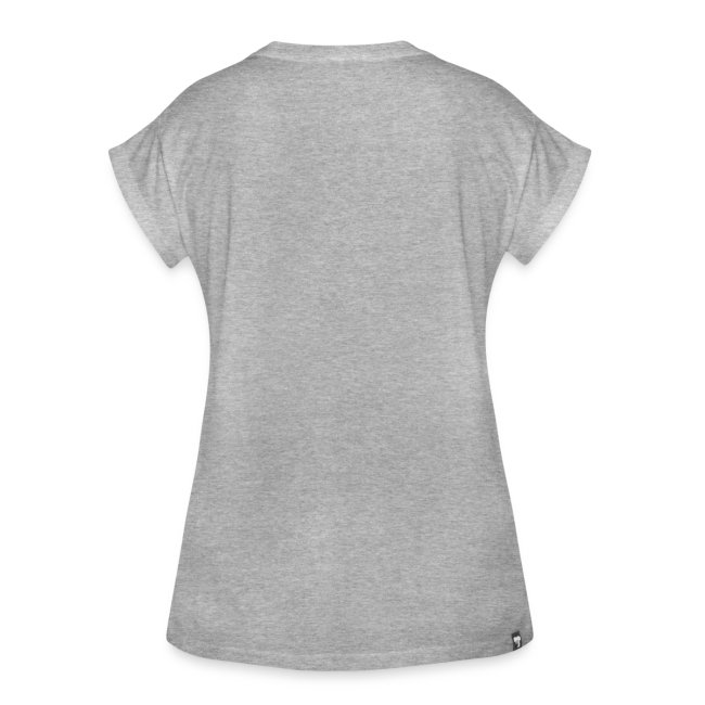 Vorschau: peeking cat - Frauen Oversize T-Shirt