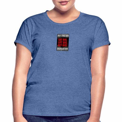 Motivation gym - Oversize-T-shirt dam