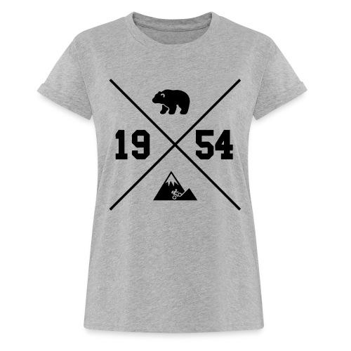 Karhuvuori -baseballhuppari - Naisten oversized-t-paita