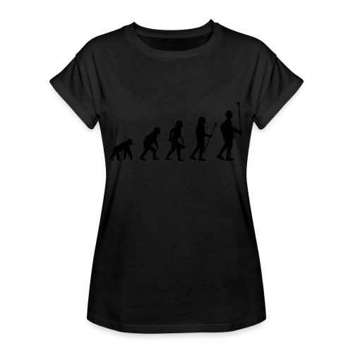 Stabführer Evolution - Frauen Oversize T-Shirt