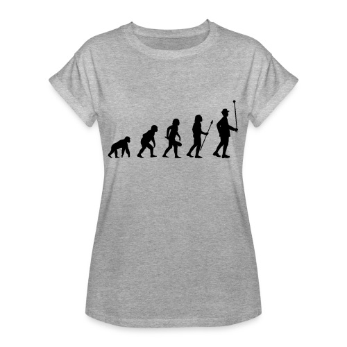 Stabführer Evolution - Frauen Oversize T-Shirt