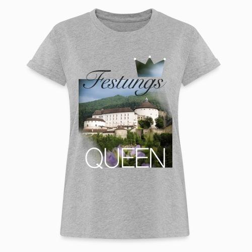 Festungsqueen - Naturfotodesign by Yasmin Embacher - Frauen Oversize T-Shirt