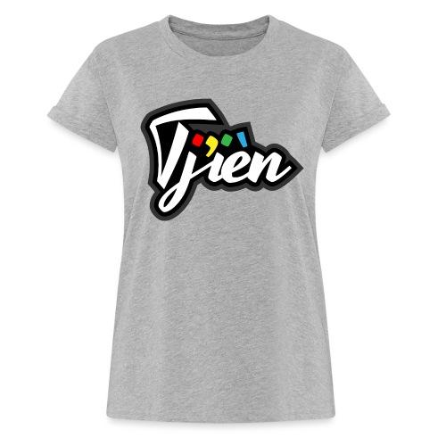 Tjien Logo Design - Vrouwen oversize T-shirt