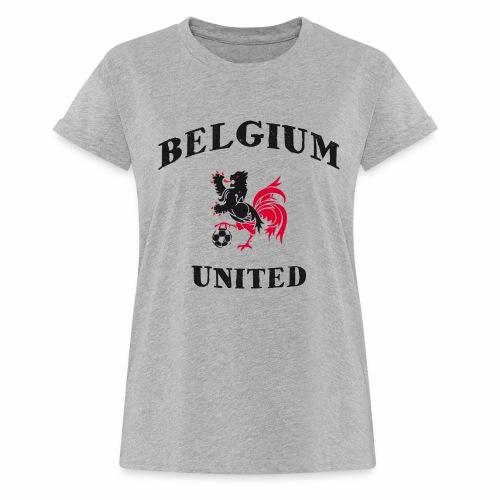 Belgium Unit - Women's Oversize T-Shirt
