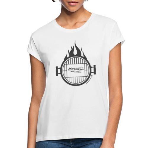 Anthony Bourdain - Frauen Oversize T-Shirt