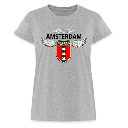 Amsterdam Netherlands - Frauen Oversize T-Shirt
