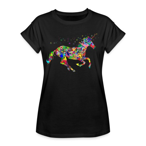 Einhorn - Frauen Oversize T-Shirt