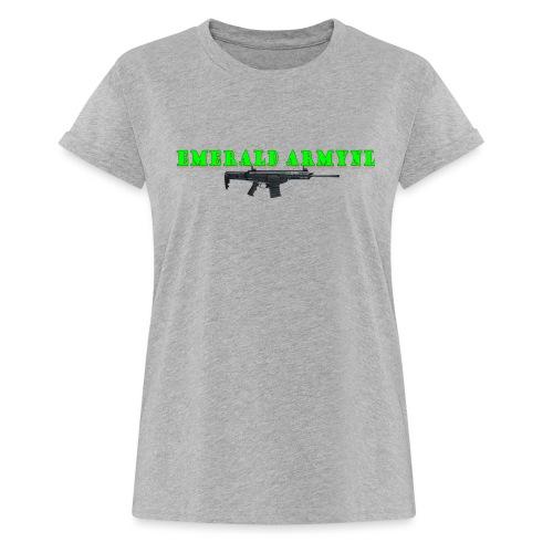 EMERALDARMYNL LETTERS! - Vrouwen oversize T-shirt