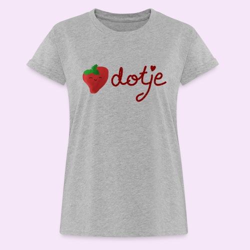 Baby aardbei Dotje - cute - Vrouwen oversize T-shirt